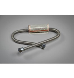 "Blichmann Gas Hose - Stainless Corrugated, 22""L"