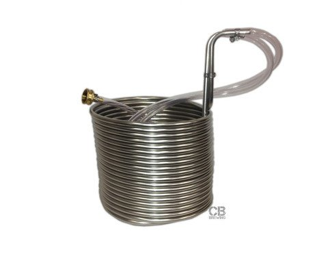 Coldbreak Brewing Immersion Wort Chiller 50' (Stainless)