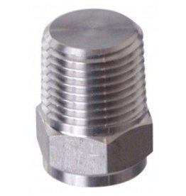 """Plug 1/2"""" MPT Solid (SS)"""