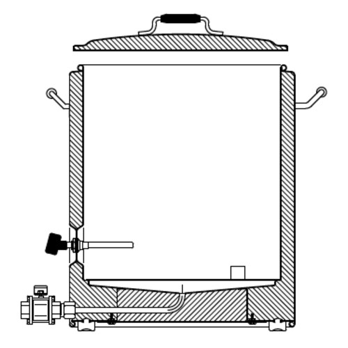 SS Brewing Technologies InfuSsion Mash Tun - 20 Gal