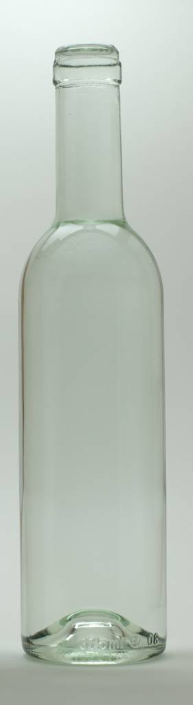 LD Carlson 375 mL Clear Semi-Bordeaux Bottles