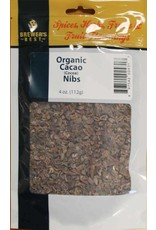 Brewers Best Cacao Nibs 4 oz (Organic)