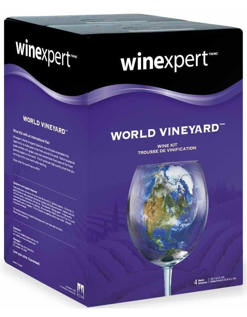 WineExpert Washington Merlot W/Grape Skins (World Vineyard)