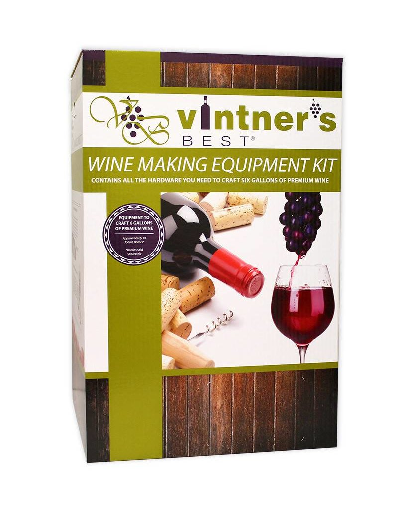 Vintners Best Wine Equipment Deluxe Starter Kit (6 Gallon)