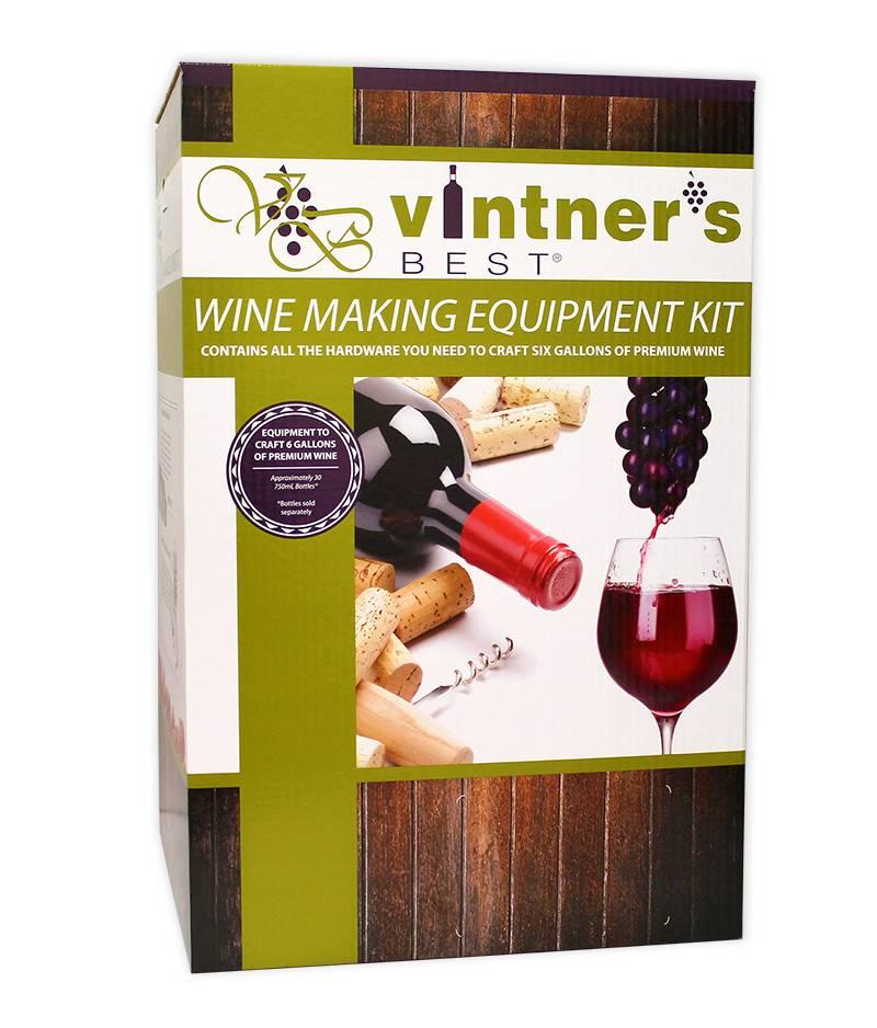 Vintners Best Wine Equipment Deluxe Starter Kit (6 Gallon)