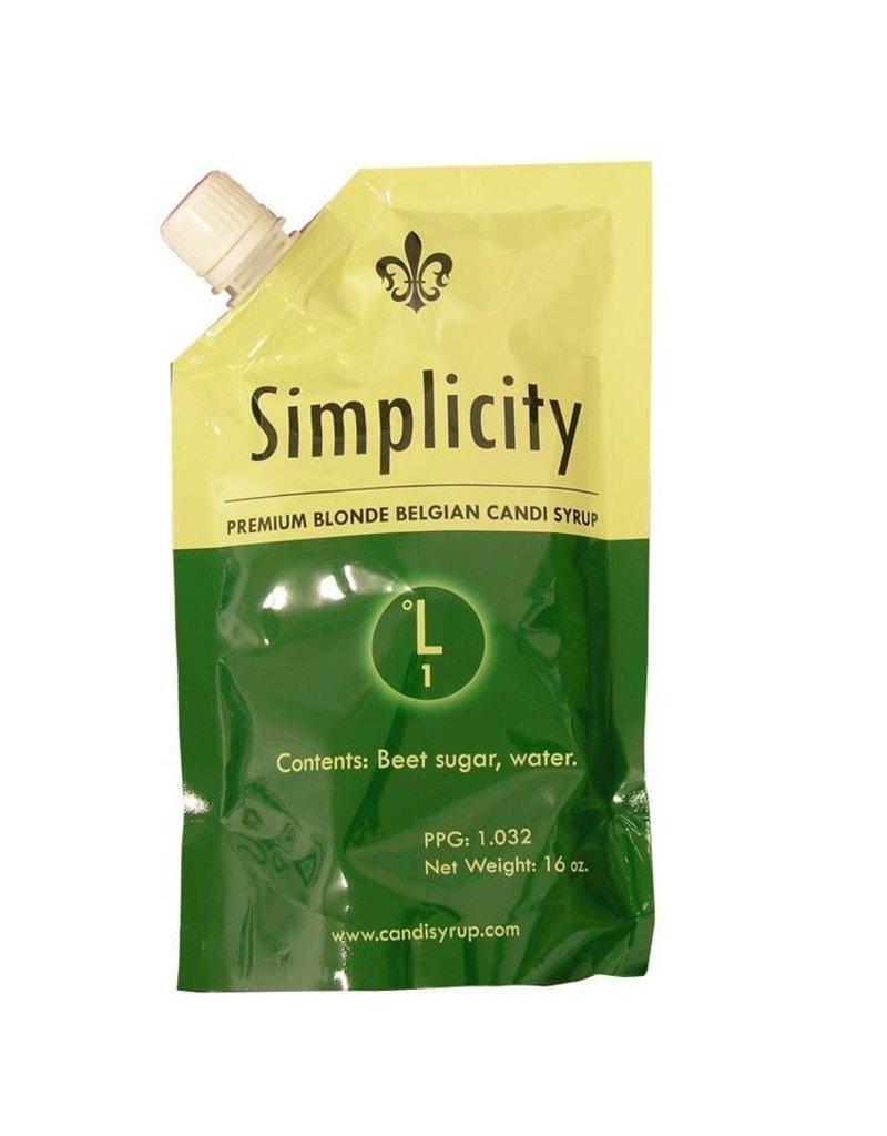 Candi Syrup Inc. Candi Syrup 1 lb (Blonde)(Simplicity)