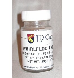 LD Carlson Whirlfloc Tablets 10/Vial