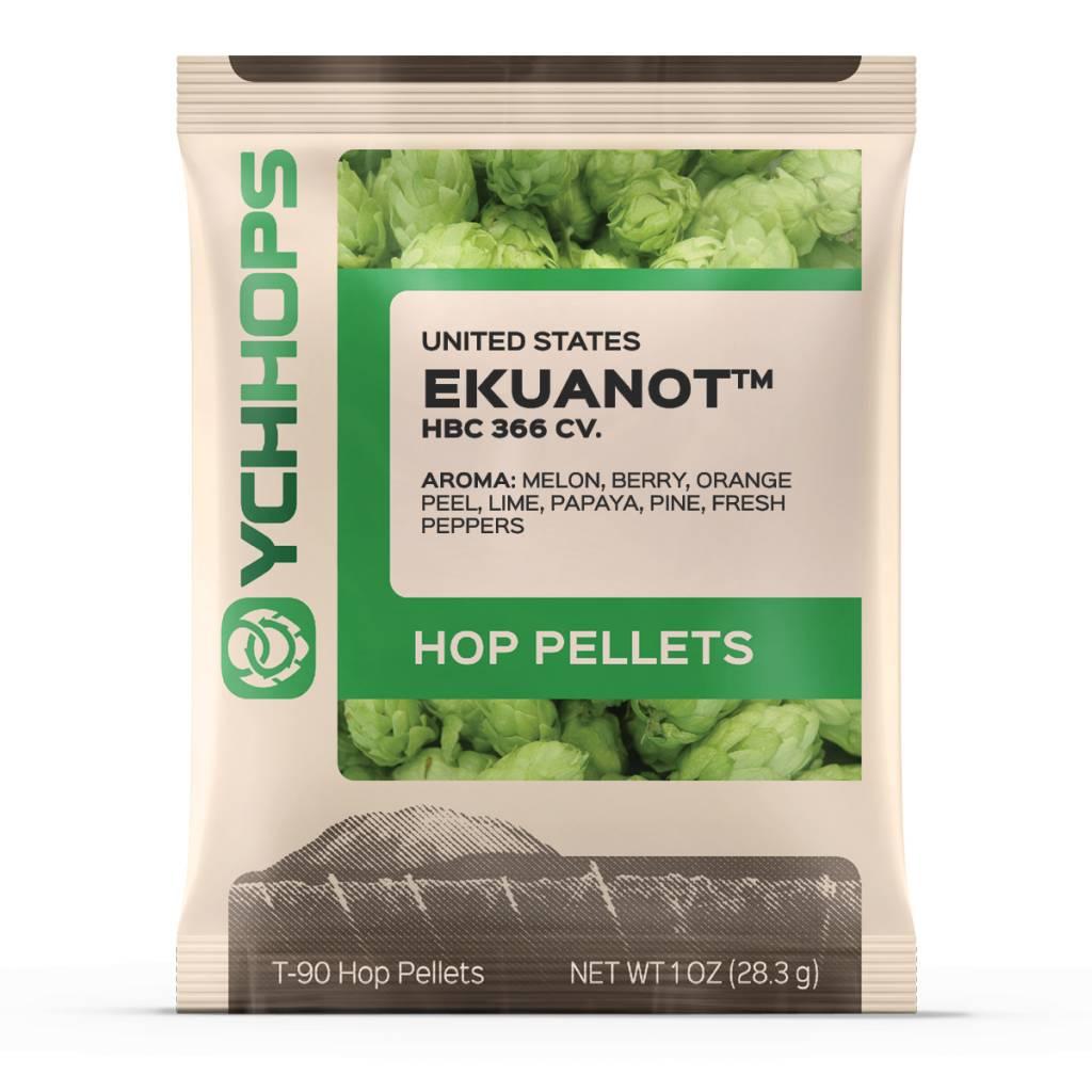 YCH Hops Ekuanot Hop Pellets 1 OZ (US)
