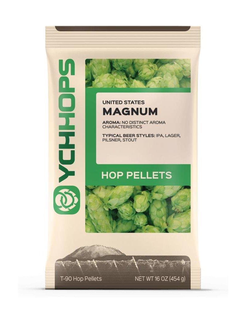 YCH Hops Magnum Hop Pellets 1 LB (German)