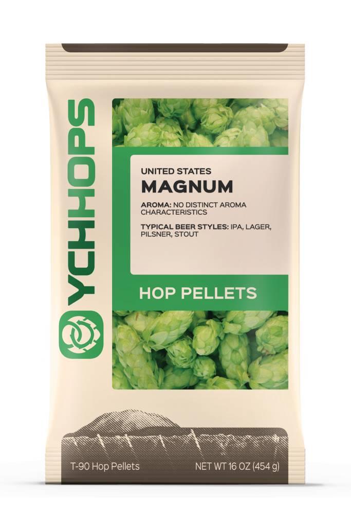 YCH Hops Magnum Hop Pellets 1 LB (German)