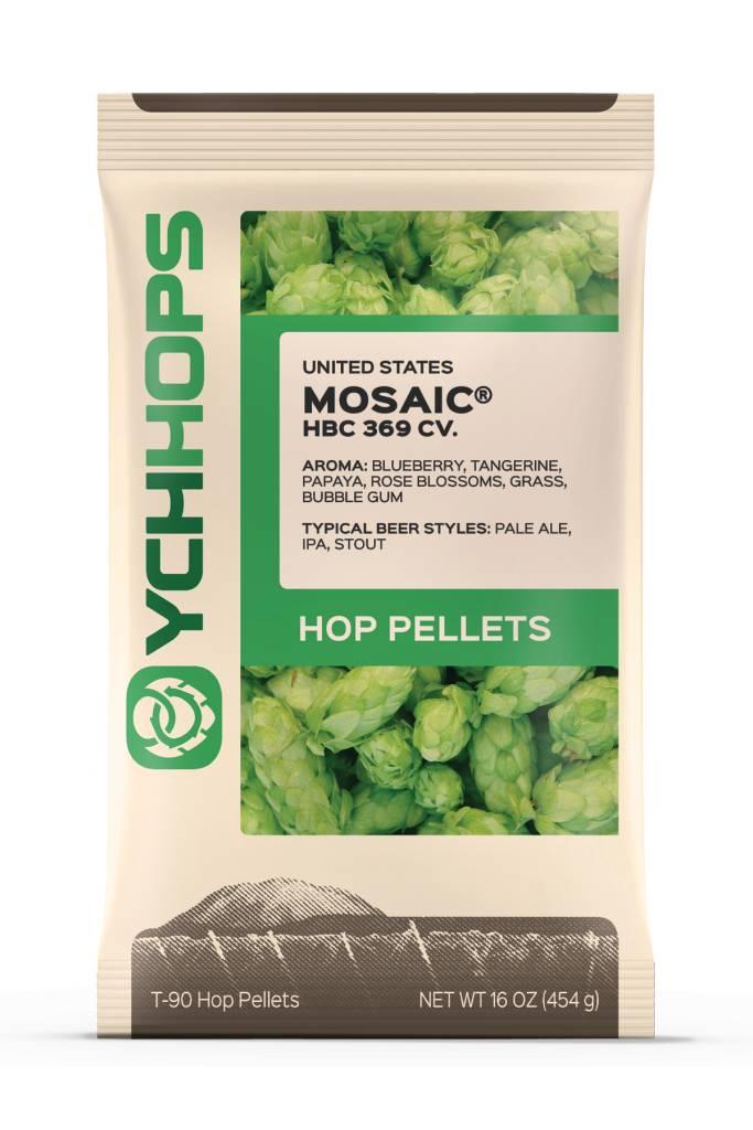 YCH Hops Mosaic Hop Pellets 1 LB (US)
