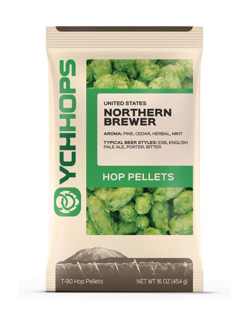 YCH Hops Northern Brewer Hop Pellets 1 LB (US)