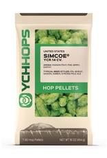 YCH Hops Simcoe Hop Pellets 1 LB (US)