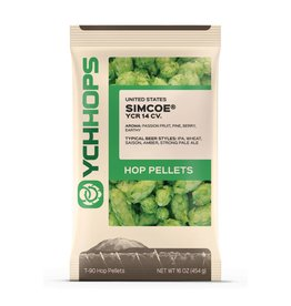 YCH Hops Simcoe Hop Pellets 1 LB (US)