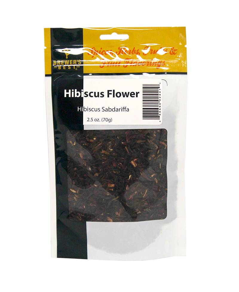 Brewers Best Hibiscus Flower 2.5 oz