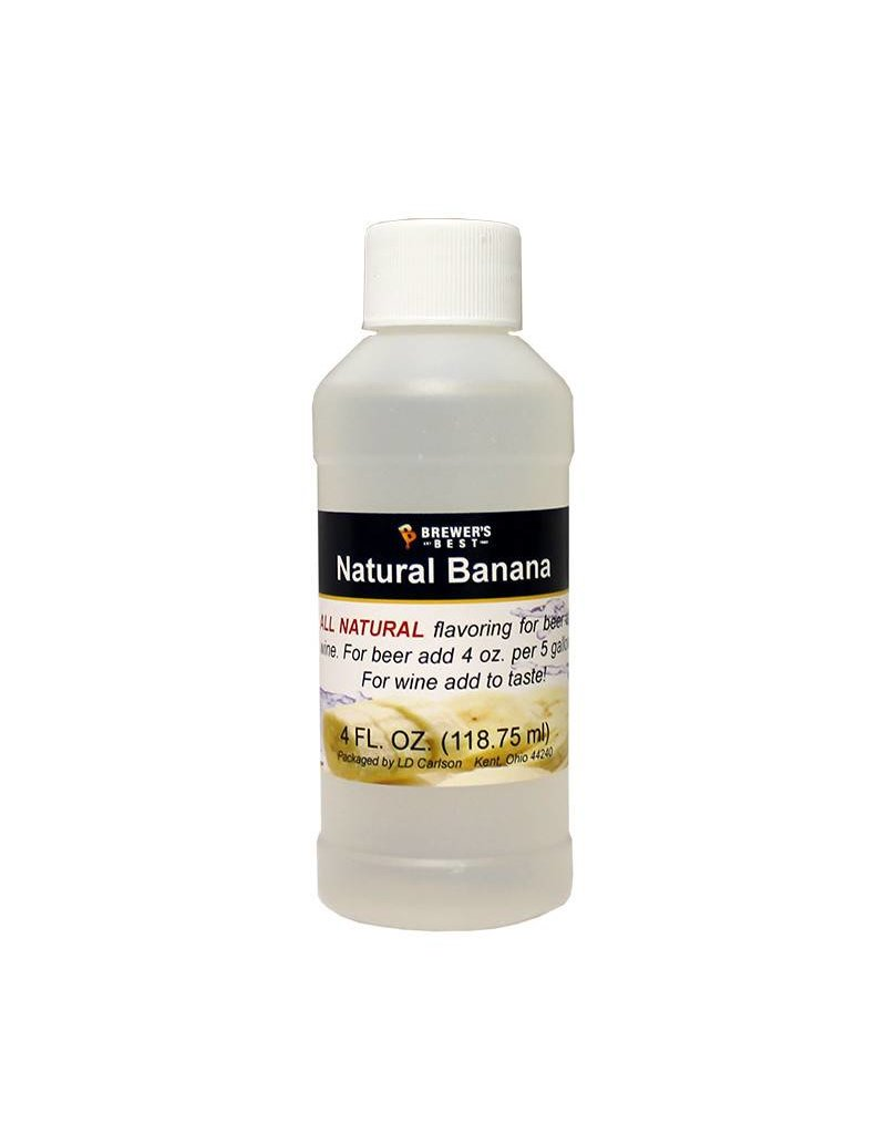 Brewers Best Banana Flavoring Extract 4 oz (All Natural)