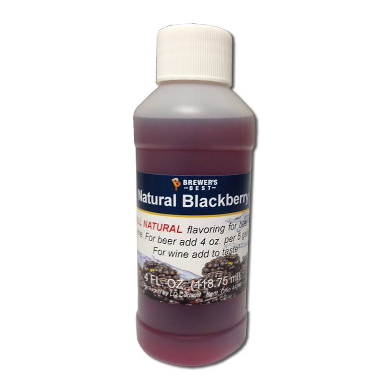 Brewers Best Blackberry Flavoring Extract 4 oz (All Natural)