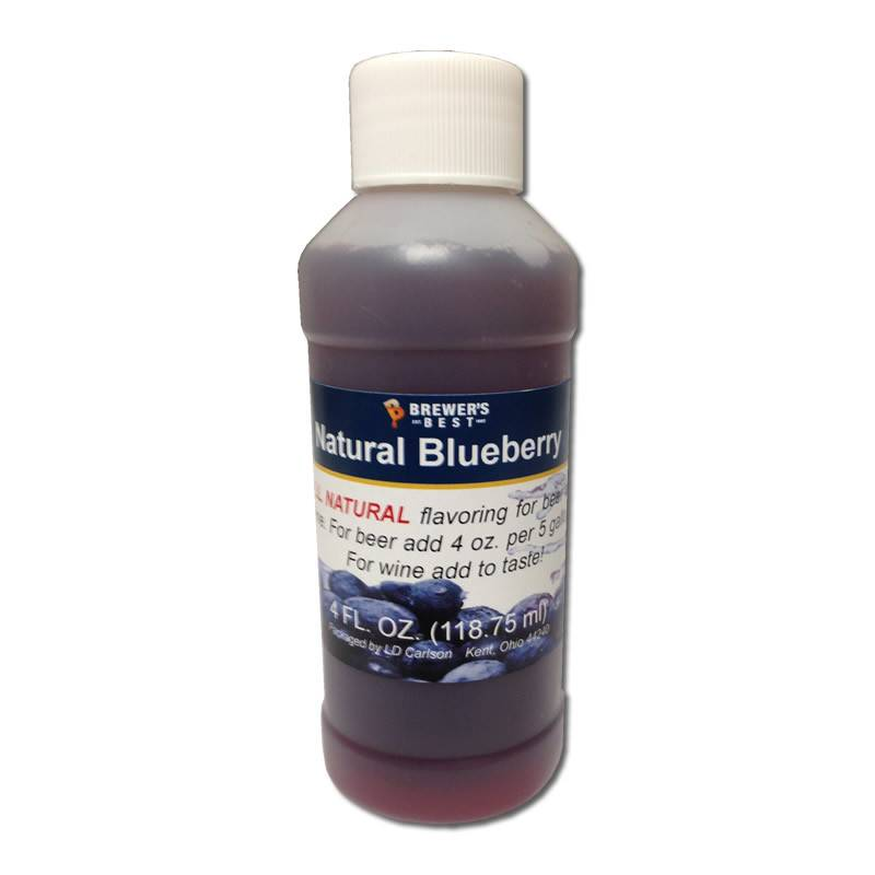 Brewers Best Blueberry Flavoring Extract 4 oz (All Natural)