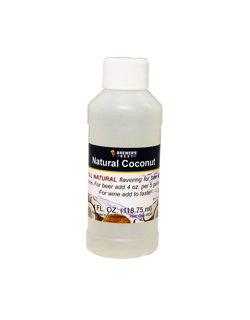 Brewers Best Coconut Flavoring Extract 4 oz (All Natural)