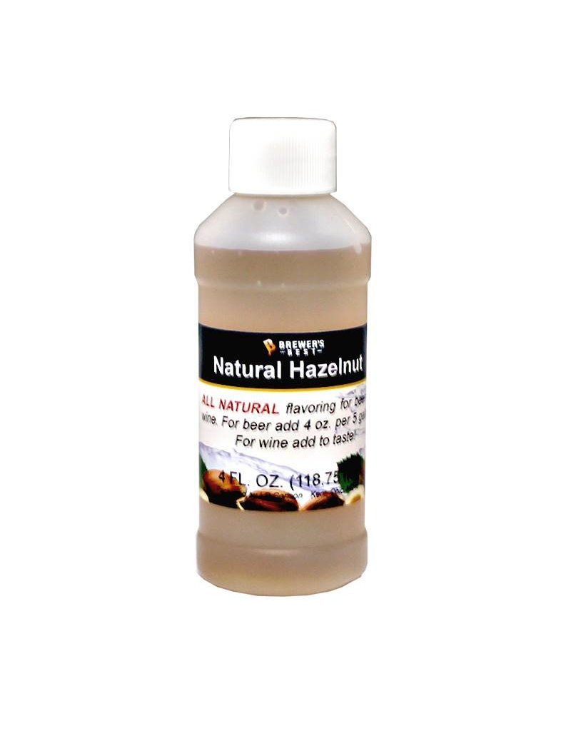 Brewers Best Hazelnut Flavoring Extract 4 oz (All Natural)