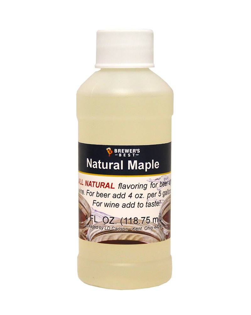 Brewers Best Maple Flavoring Extract 4 oz (All Natural)
