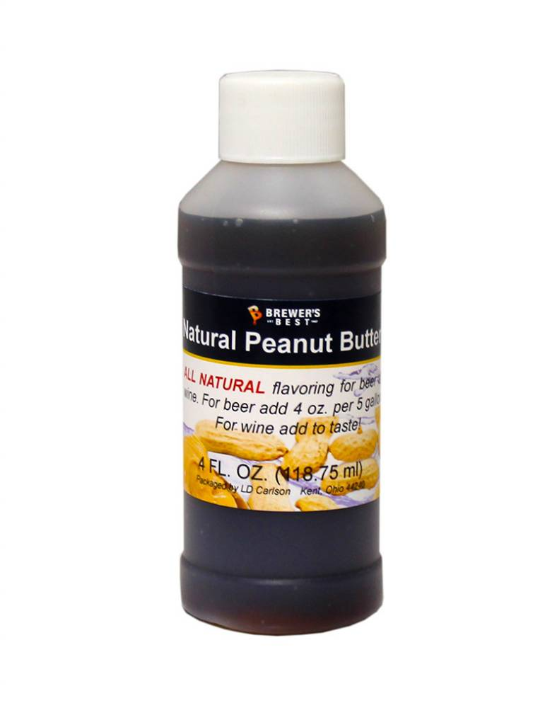 Brewers Best NATURAL PEANUT BUTTER FLAVORING EXTRACT 4 OZ