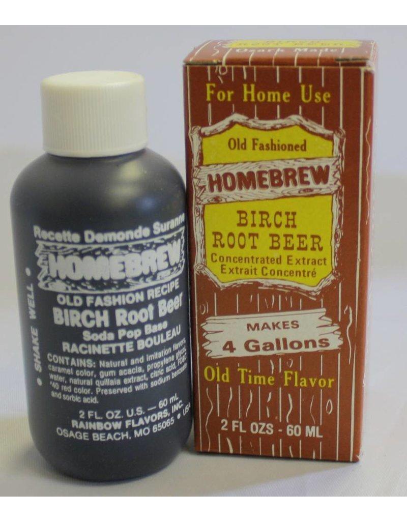 Rainbow Flavors Inc. Birch Beer Soda Extract 2 oz