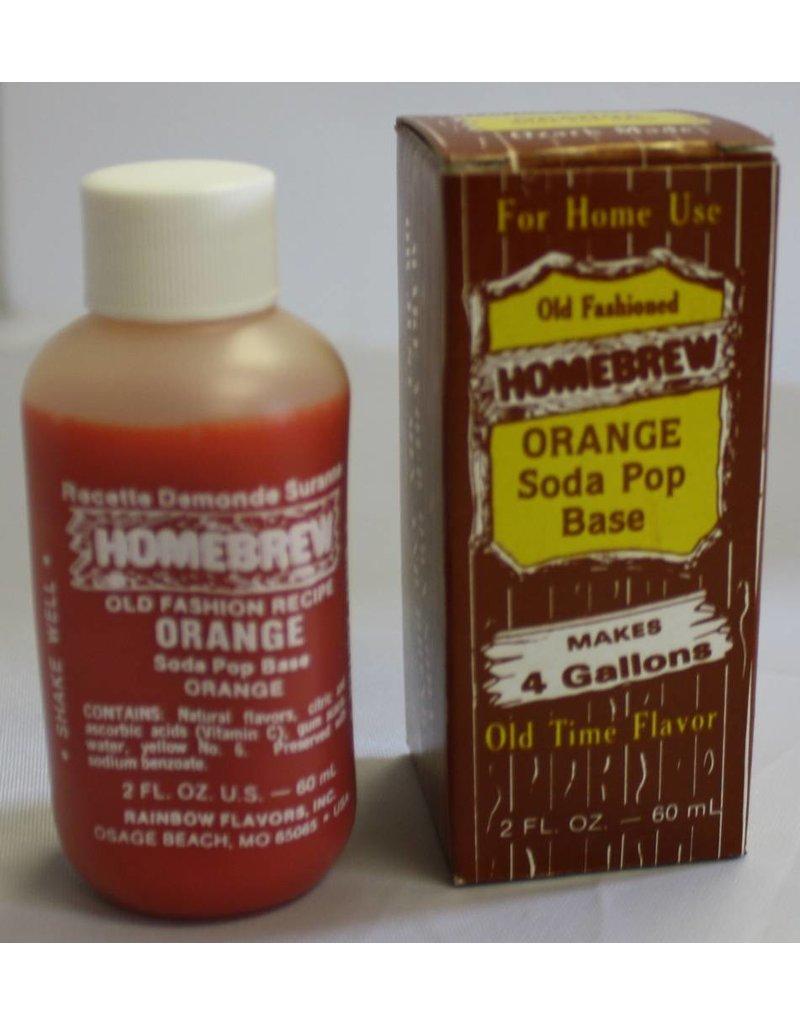 Rainbow Flavors Inc. Orange Soda Extract 2 oz