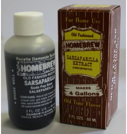Rainbow Flavors Inc. Sarsaparilla Soda Extract 2 oz