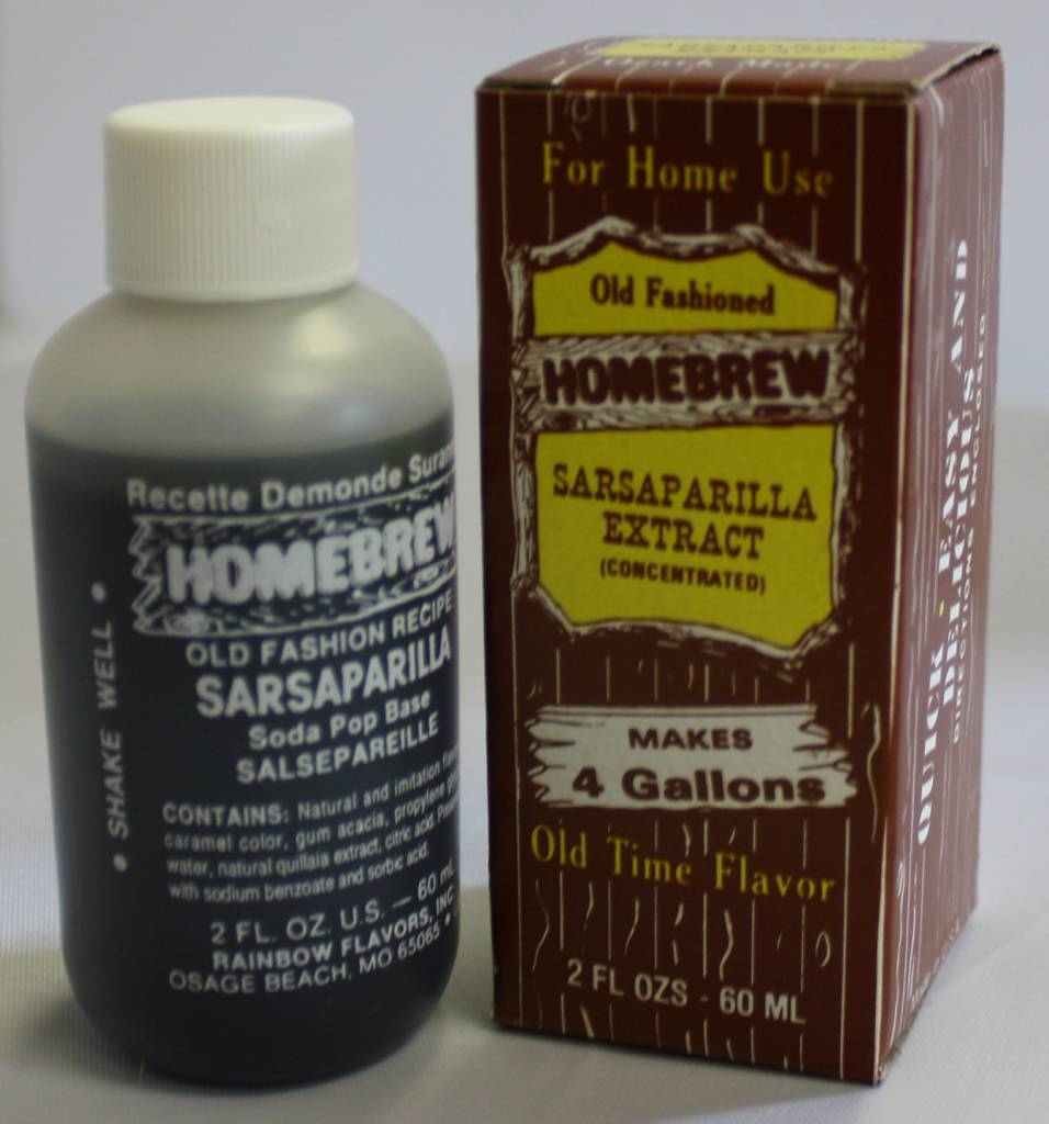 Rainbow Flavors Inc. Sarsaparilla Soda Extract 2 oz