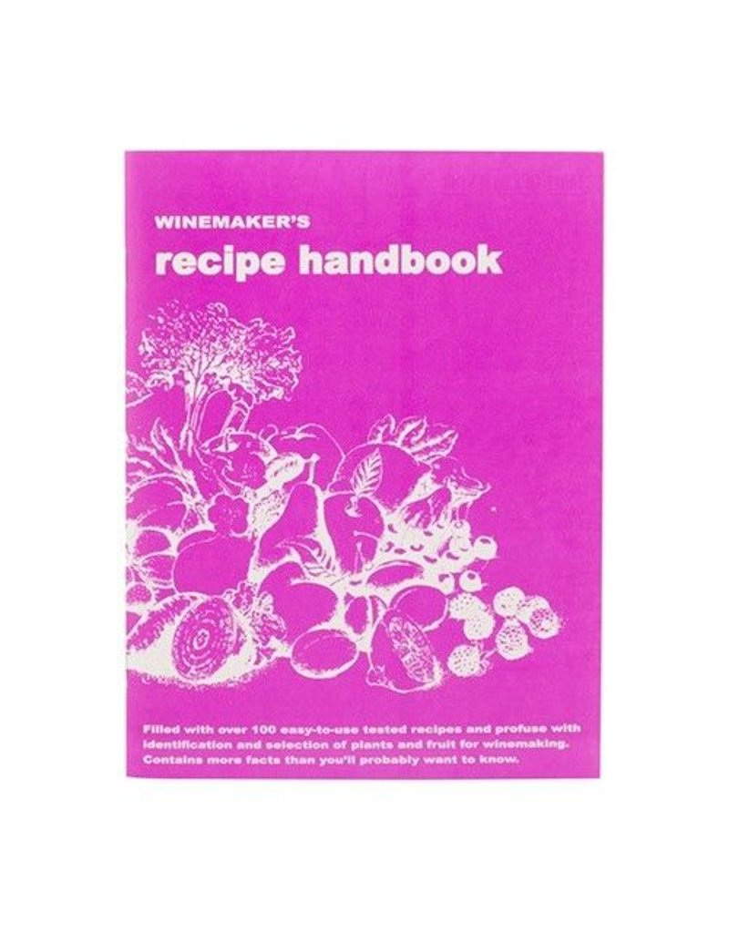 LD Carlson Winemakers Recipe Handbook (Massaccesi)