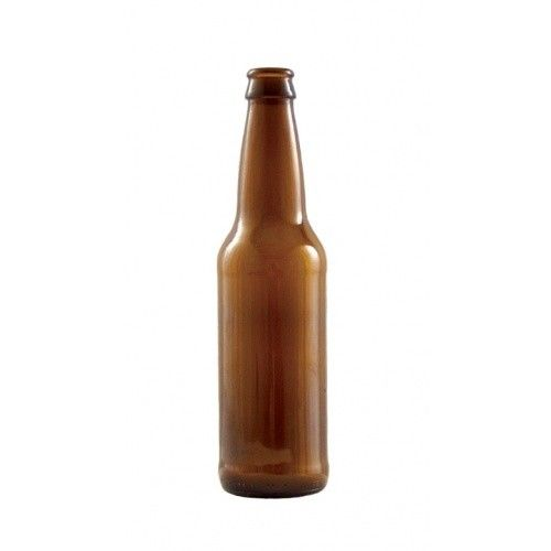 LD Carlson 12 oz Amber Beer Bottles 24/Case