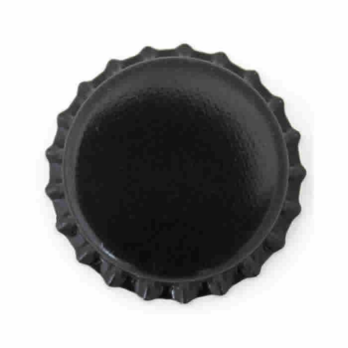 Crown Cap W/Oxy-Liner 144/Bag (Black)