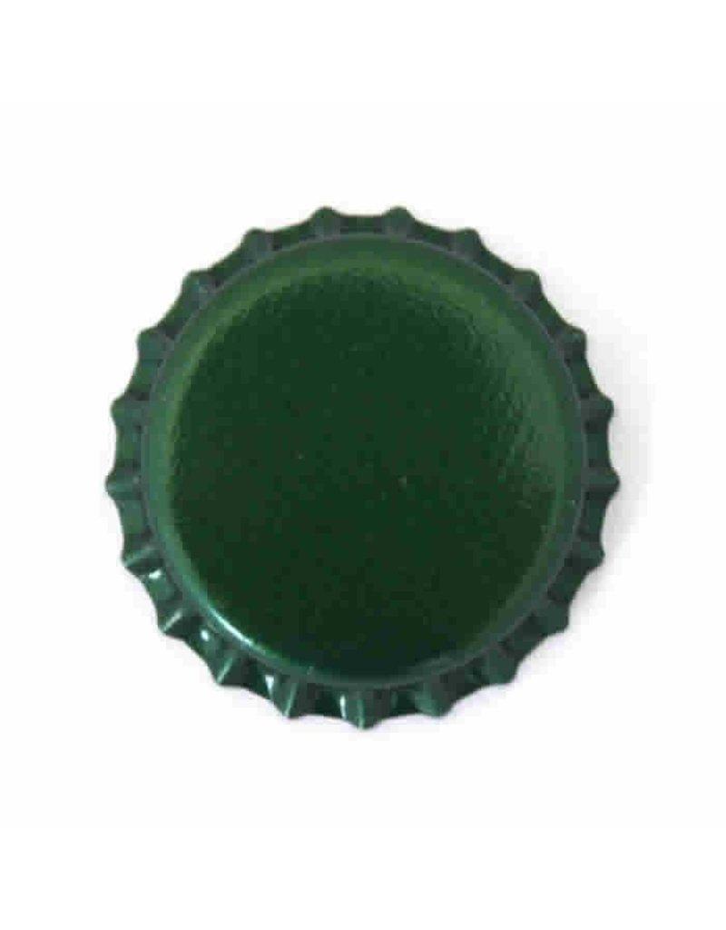 Crown Cap W/Oxy-Liner 144/Bag (Green)