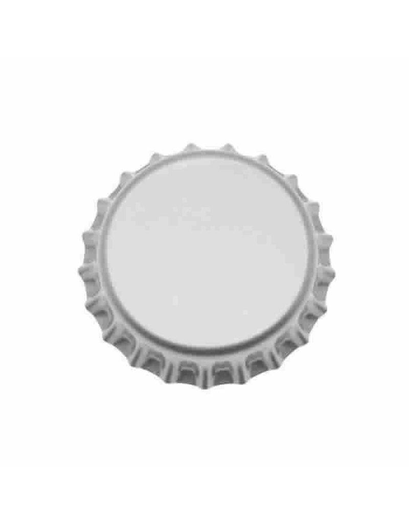 Crown Cap W/Oxy-Liner 144/Bag (Silver)