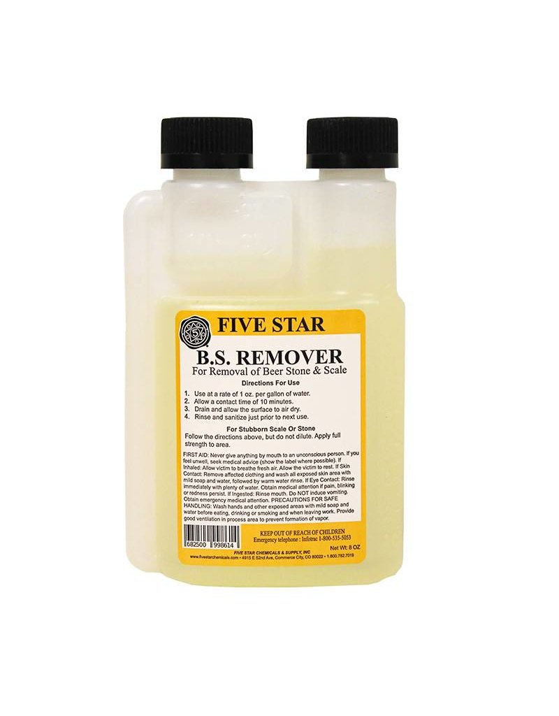Five Star Beer Stone Remover 8 oz