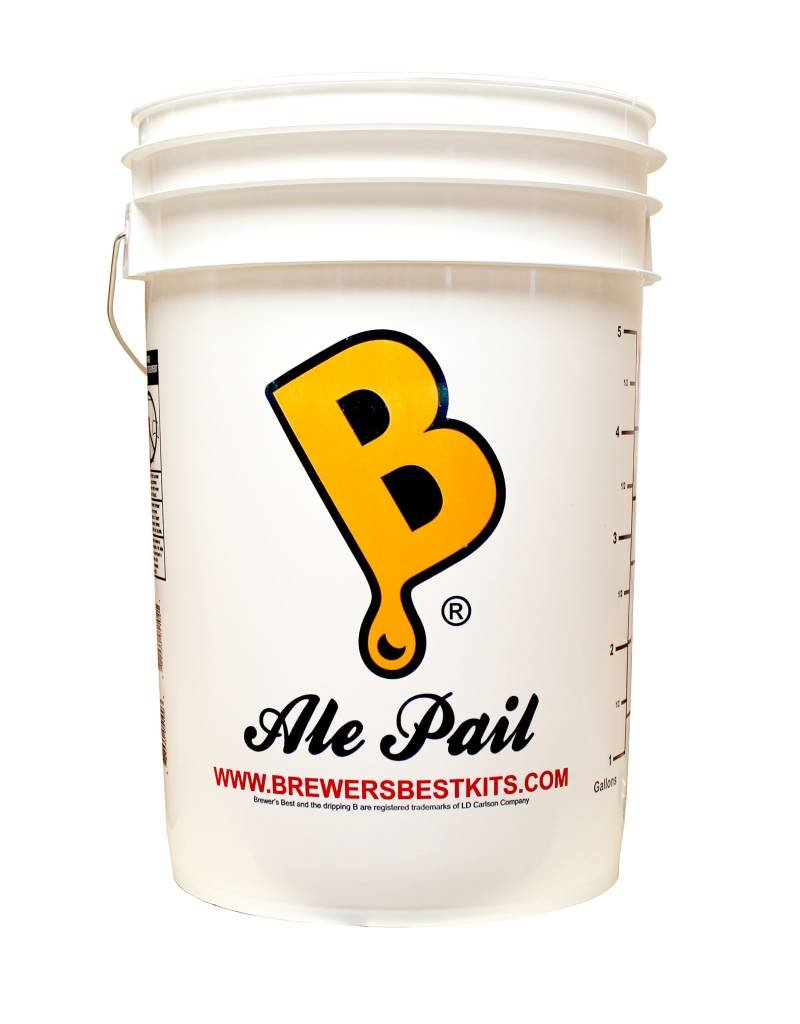 Brewers Best Fermenting Bucket (Ale Pail) (6.5 Gallon)