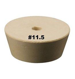 Vintage Shop Rubber Stopper W/Hole (#11.5)