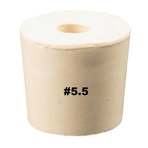 Vintage Shop Rubber Stopper W/Hole (#5.5)