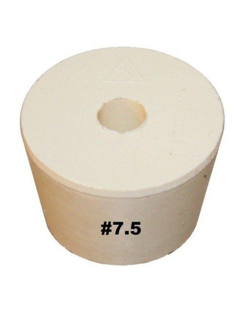 Vintage Shop Rubber Stopper W/Hole (#7.5)