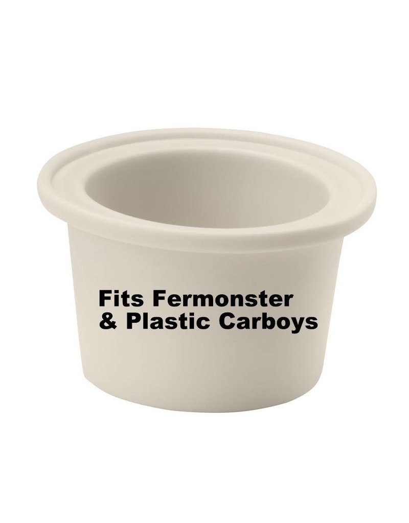 LD Carlson Universal Medium Bung W/Hole (Fits Fermonster)