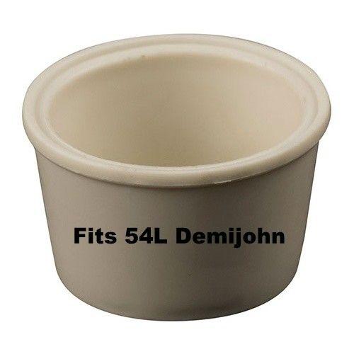 LD Carlson Universal Large Bung W/Hole (Fits 54L Demijohn)