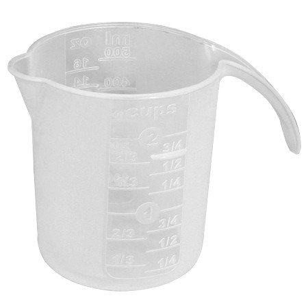 LD Carlson Plastic measuring cup 16 oz.