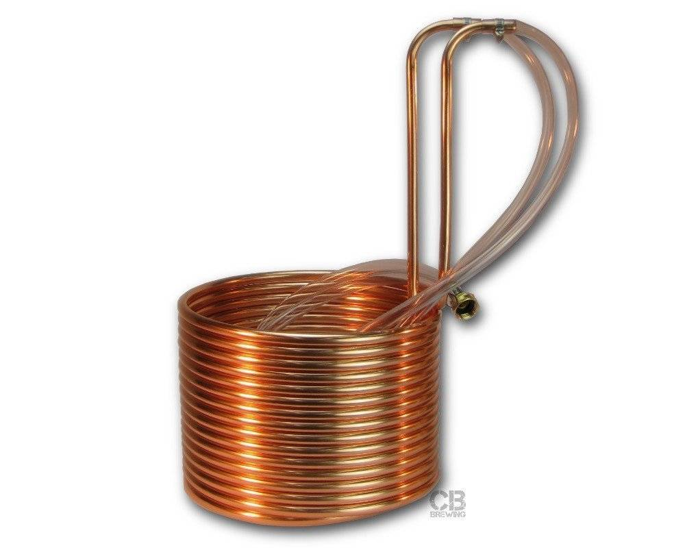 "Coldbreak Brewing Immersion Wort Chiller 50' (Copper 1/2"" OD)"