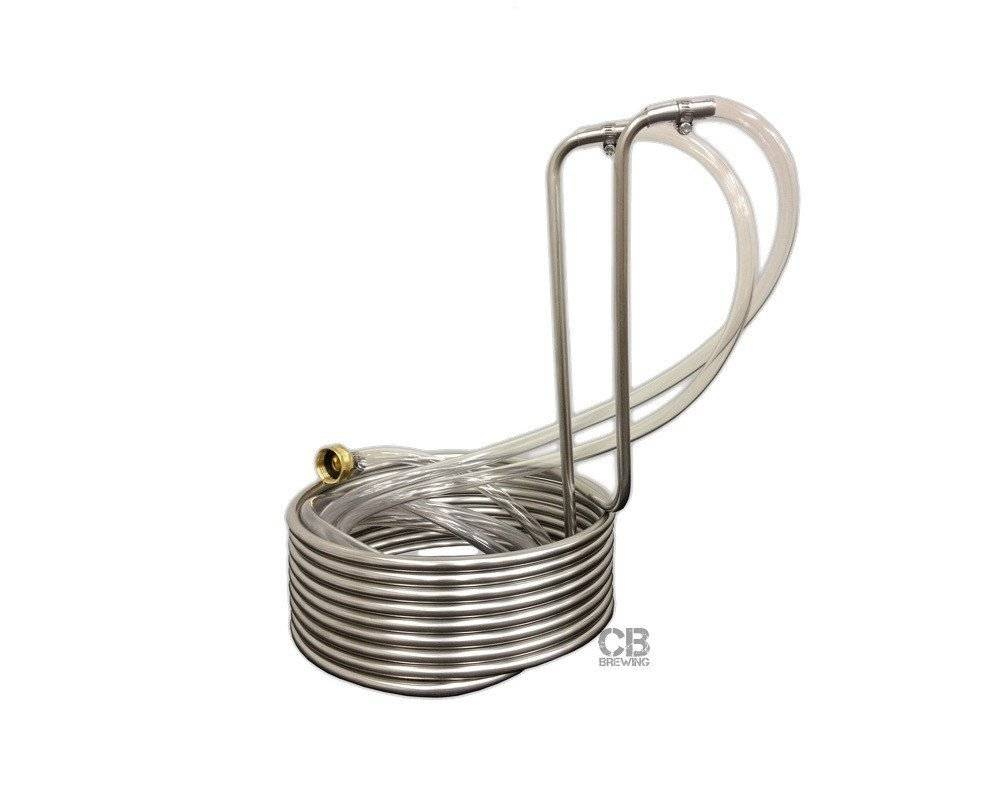Coldbreak Brewing Immersion Wort Chiller 25' (Stainless)