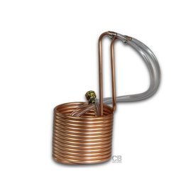 Coldbreak Brewing Immersion Compact Wort Chiller 25' (Copper)