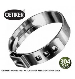 Foxx Equipment Company Oetiker Clamp Stepless 13/31 (10.5)