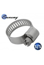 "Coldbreak Brewing Clamp SS Adjustable 7/32"" - 5/8"" (Small)"