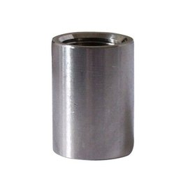 Stainless - Full Coupler - 1/2 in
