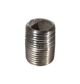 Stainless Nipple - 1/2 in. x 1 in. Threaded (close)